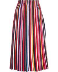 Tory Burch - Ellis Multicolored Skirt - Lyst