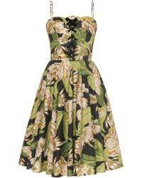 Lena Hoschek - Sunny Side Floral Dress - Lyst