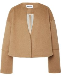 Partow - Marlo Panelled Cashmere-blend Jacket - Lyst