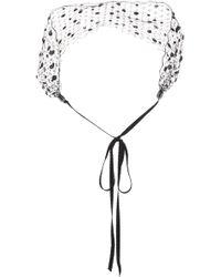 Gigi Burris Millinery | Cecile Embellished Veil Headband | Lyst