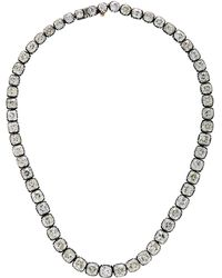 Nina Runsdorf - Rare Cushion-cut Diamond Riviere Necklace - Lyst
