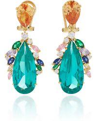 Anabela Chan - M'o Exclusive Peacock Paraiba Earrings - Lyst