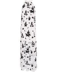 Carolina K - Lucia Embellished Crepe Maxi Dress - Lyst