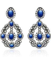 Anabela Chan - Exclusive Treasure Sapphire Earrings - Lyst