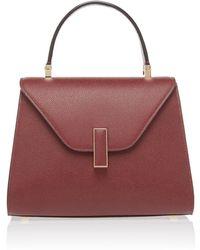 Valextra - Iside Mini Textured-leather Shoulder Bag - Lyst