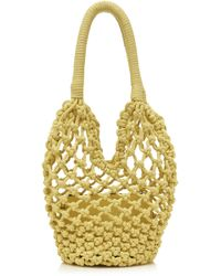Les Petits Joueurs - Amina Knotted Rope Bag - Lyst