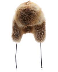 Pologeorgis - The Sun Red Fox Trapper Hat - Lyst