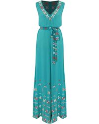 All Things Mochi - Farah Embroidered Cotton Jumpsuit - Lyst