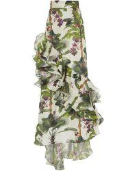 Johanna Ortiz - Oasis Town Silk Organza Skirt - Lyst