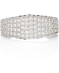 Ralph Masri - Diamond Band Ring - Lyst