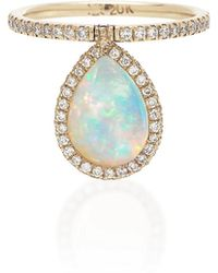 Nina Runsdorf - M'o Exclusive Medium Opal Flip Ring - Lyst