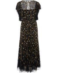 Rachel Gilbert - Katinka Embroidered Tulle Dress - Lyst