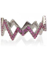 Diane Kordas - Pink Pop Art Ring - Lyst