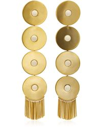 Monica Sordo - Ica Gold-plated Drop Earrings - Lyst