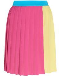 Emilia Wickstead - Bluebelle Pleated Mini Skirt - Lyst
