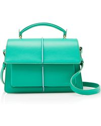 Marni - Attachè Small Leather-blend Bag - Lyst