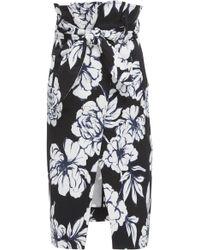 Marissa Webb - Ella Printed Ottoman Skirt - Lyst