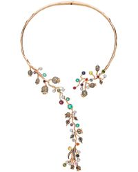 Colette - M'o Exclusive: Hinge Necklace - Lyst