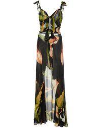 Sinesia Karol - Sk Leah Silk Cover Up - Lyst