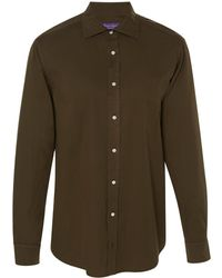 Ralph Lauren - Aston Classic Twill Button-up Shirt - Lyst