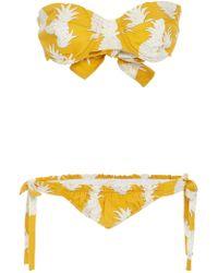 Osklen - Pineapple Bikini Set - Lyst