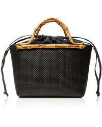 Glorinha Paranagua - Monte Carlo Small Straw Basket Bag - Lyst