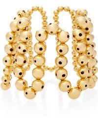 Paula Mendoza - Brug 24k Gold-plated Bracelet - Lyst