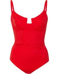 Solid & Striped - + Re/done The Hollywood One-piece Swimsuit - Lyst