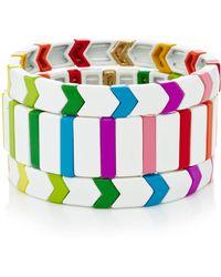 Roxanne Assoulin - Set-of-three Fresh Start Bracelets - Lyst