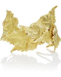 Ana Khouri - M'o Exclusive: Gold Leaf Bracelet - Lyst