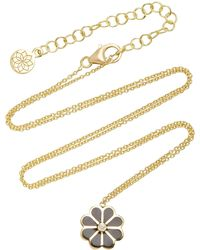 Amrapali - Rosette 18k Gold And Enamel Necklace - Lyst