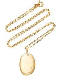 CVC Stones - 18k Gold And Diamond Necklace - Lyst