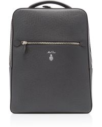 Mark Cross - Alexander Gray Saffiano Leather Backpack - Lyst