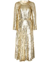 Temperley London - Ray Sequined-tulle Dress - Lyst