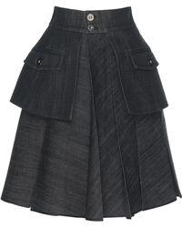 Dice Kayek | Black Layer Skirt | Lyst