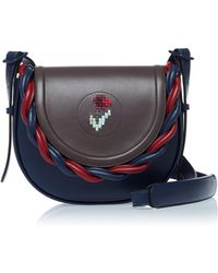 Marco De Vincenzo | Leather Saddle Bag | Lyst