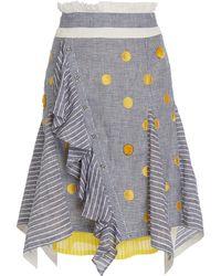 Rahul Mishra - Photon Stripe Skirt - Lyst