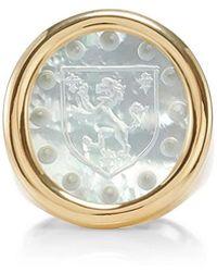 Asha - Bespoke Family Crest Ring - Lyst