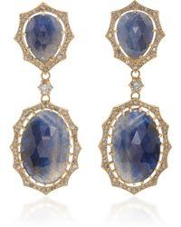 LFrank - The Josephine Sapphire Earring - Lyst
