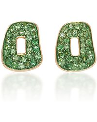 Mattioli - Puzzle Earrings With Tsavorites - Lyst