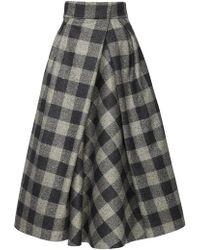 Marina Moscone - Marina A-line Skirt - Lyst