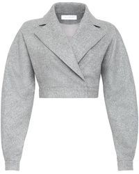Marina Moscone - Gladiator Cropped Jacket - Lyst