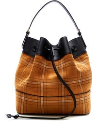 Loewe - Midnight Stitched Bucket Bag - Lyst