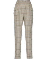 Rahul Mishra - Wool Plaid Trousers - Lyst