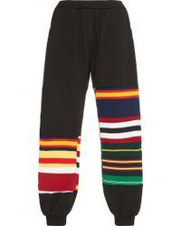 Tata Naka - Striped Jogging Trousers - Lyst