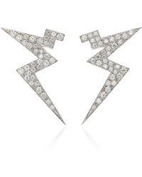 Claudia Oddi - Lightning Mini Earrings - Lyst