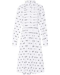 Novis - Larrabee Pintuck Shirt Dress - Lyst