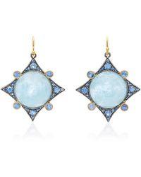 Arman Sarkisyan - Aquamarine Earrings - Lyst