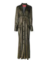 For Restless Sleepers   Dedalo Deep V Pyjama Dress   Lyst