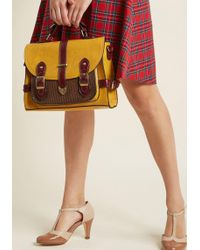 ModCloth - Authentically Academic Bag - Lyst